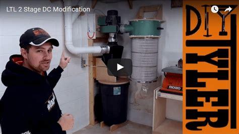 stage harbor freight dust collector hack diytyler