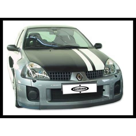 renault clio v6 nfs carbon body kit enlarged renault clio 2002 v6 tuning carbon hoods