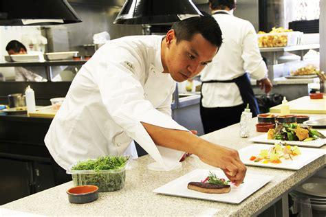 cuisine des chefs patina 39 s charles olalia a chef heads up an even