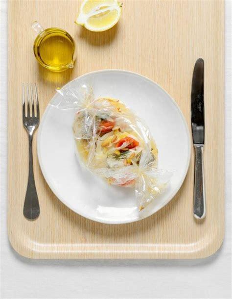 cuisine minceur rapide recette minceur rapide bar en papillote que manger le