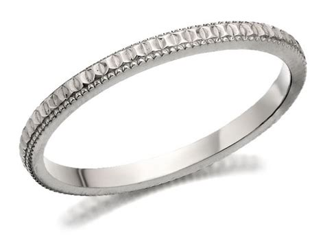 f hinds womens jewellery 9ct white gold diamond cut brides
