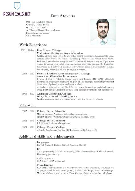 Lebenslauf Vorlage Englisch by 15 Curriculum Vitae Format Receipts Template
