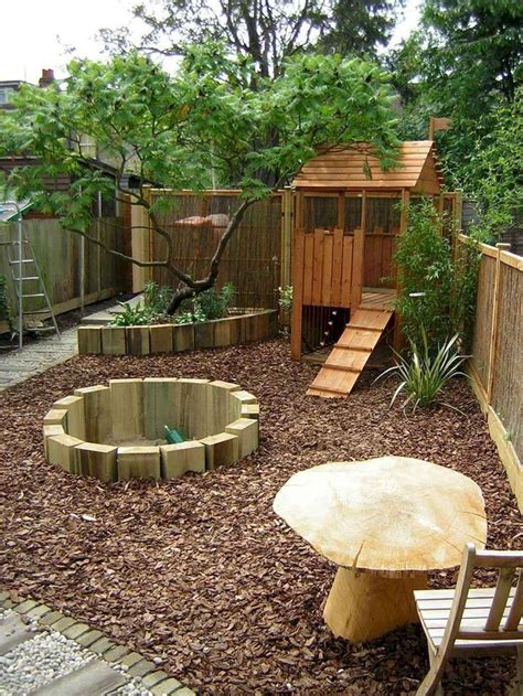 60 awesome small backyard playground landscaping ideas