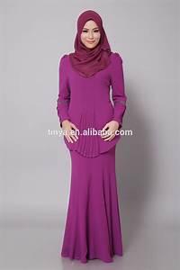 New Fashion Design Modern Chiffion Pluz Size Baju Kurung ...
