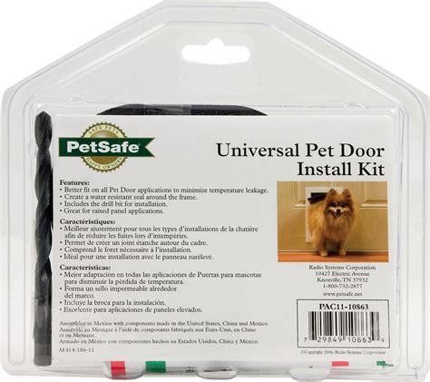 petsafe pet door installation petsafe pet door installation kit chewy com
