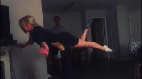 Jorgie Porter and Dancing on Ice partner get hands-on as ...