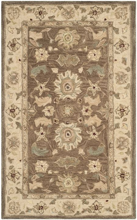 Safavieh Anatolia Collection by Traditional Wool Area Rug Anatolia Collection Safavieh