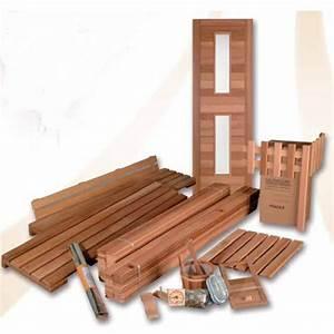 Construire Un Sauna : saunas pr ts assembler club spa ~ Premium-room.com Idées de Décoration