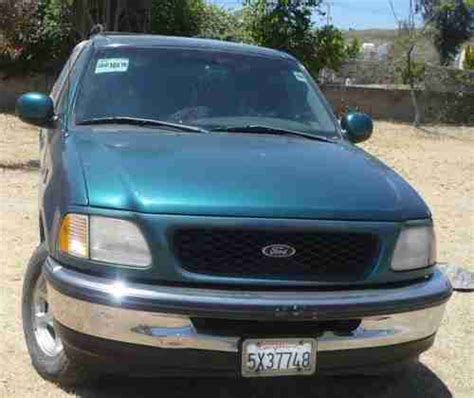 Find used FORD F150 XLT EXT CAB w/ CAMPER SHELL NICE TRUCK