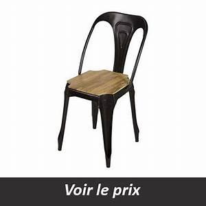 Chaise Style Industriel : quelle chaise style industriel choisir pour un look atelier ~ Teatrodelosmanantiales.com Idées de Décoration