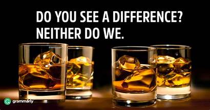Whisky Whiskey Difference Between Grammarly