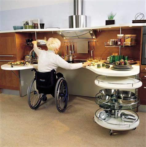kitchen design for wheelchair user simple sleek kitchen design for wheelchair users 7935