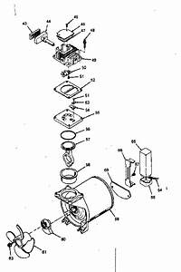 Compressor Pump Diagram  U0026 Parts List For Model 919154010