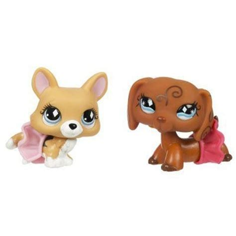 Littlest Pet Shop Pet Pairs Corgi & Dachshund   Import It All