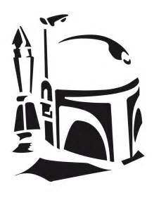 Free Boba Fett Pumpkin Stencil by Carve These Star Wars Pumpkins You Shall Wired