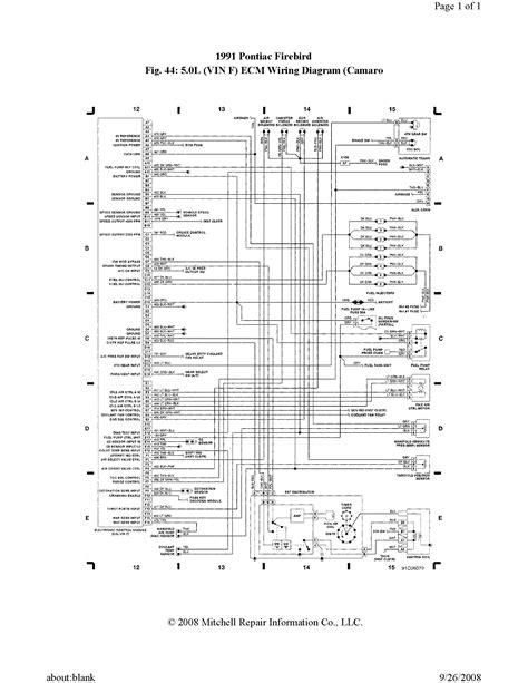 Pontiac Firebird Ecu Wiring Diagram Needed