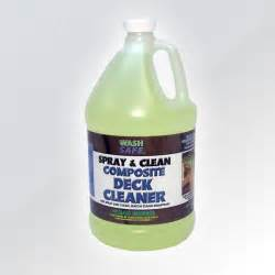 buy spray  clean composite deck cleaner  wash