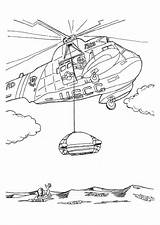 Coloring Helicopter Rescue Pages Mission Printable Transportation Sheets Helicopters Coast Guard Boat Sheet Air Print Coloringpages101 sketch template