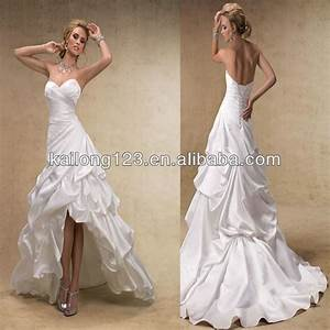 high low wedding dresses line corset lace up back With low back corset for wedding dress