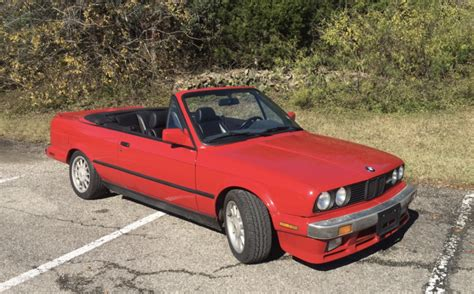 1987 Bmw 325i Convertible 5-speed For Sale On Bat Auctions