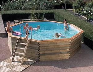 Dimension Piscine Hors Sol : piscine bois ronde un achat convivial ~ Melissatoandfro.com Idées de Décoration