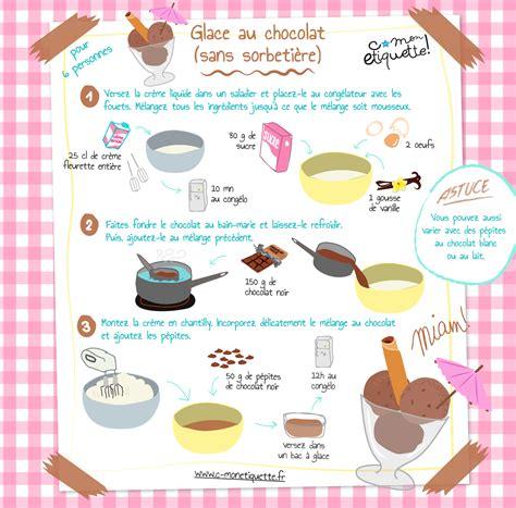 tablette pour recette de cuisine recette glace au chocolat maison atelier et cuisine