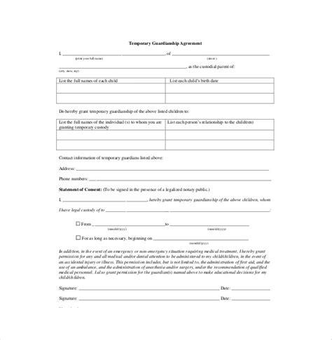 custody agreement form gtld world congress