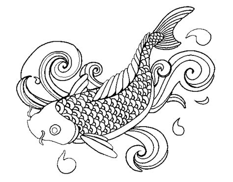 Koi Fish Coloring Pages Games