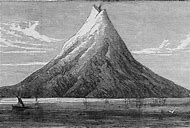 Volcano Krakatoa Eruption 1883