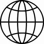Globe Earth Icon Svg Cdr Onlinewebfonts Aish
