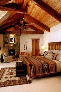 55, Warm, And, Cozy, Rustic, Bedroom, Decorating, Ideas
