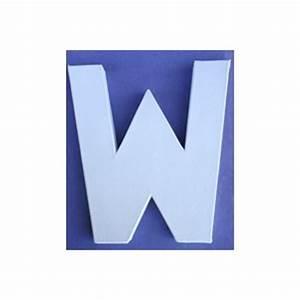 Lettre En Carton À Peindre : lettre 3d w 12cm maison pratic boutique pour vos loisirs creatifs et votre deco ~ Nature-et-papiers.com Idées de Décoration