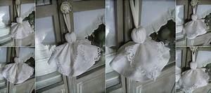 Création Avec Tissus : blanc poudr vous livre les secrets de la confection des pompons en tissu cr ation inspir e de ~ Nature-et-papiers.com Idées de Décoration