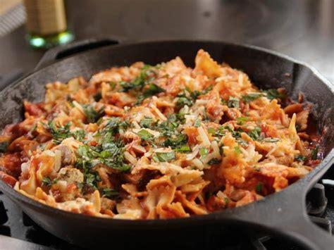 skillet chicken lasagna recipe ree drummond food network