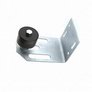 Guide Pour Porte Coulissante : guide roulette de plastique r glable pour porte ~ Dailycaller-alerts.com Idées de Décoration