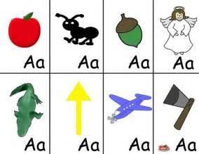 Preschool Alphabet Flash Cards