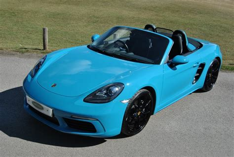 2020 porsche 718 gt4 for sale in cornelius, nc. Used Miami Blue Porsche 718 Boxster for Sale   West Sussex