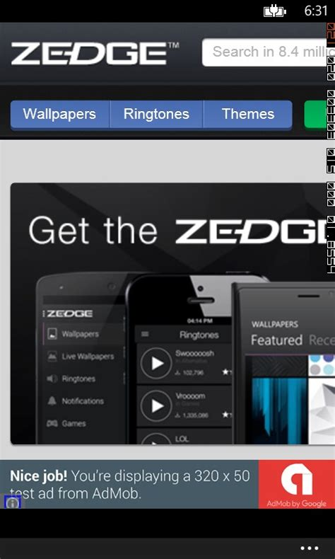 zedge free mobile app for windows 10 free on 10