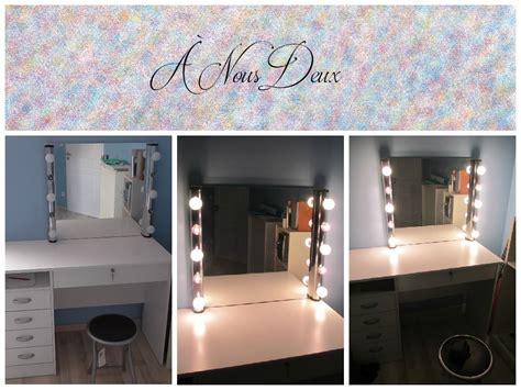 DIY Vanity Mirror  Miroir de star  Miroir pour coiffeuse