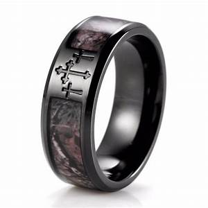 2018 popular black and silver men39s wedding bands for Black wedding ring men