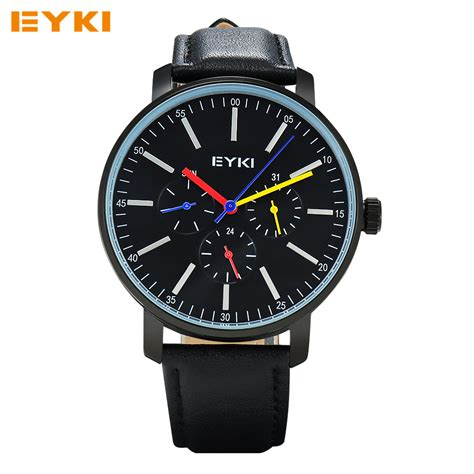 watches for men eyki mens watches top brand luxury analog quartz watch