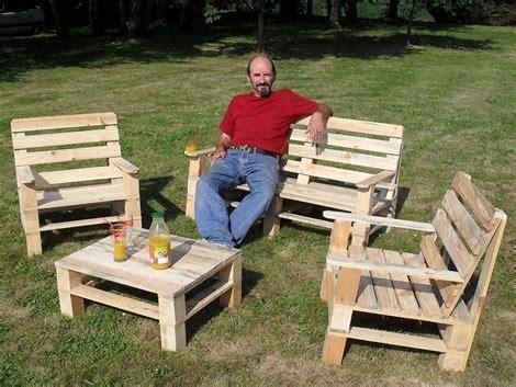 plan chaise de jardin en palette les meilleures idées de meubles en palettes les bons