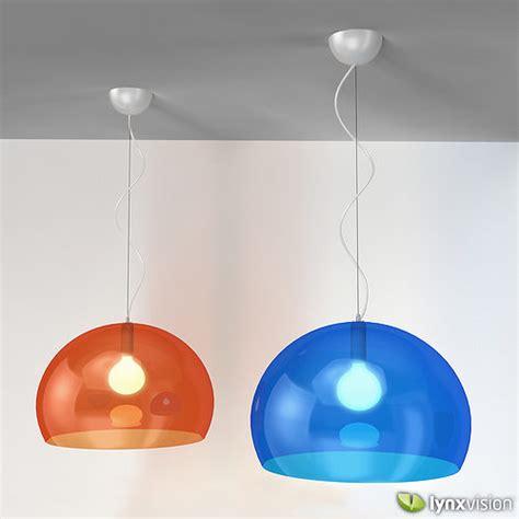 kartell chandelier fly pendant l by kartell 3d model cgtrader