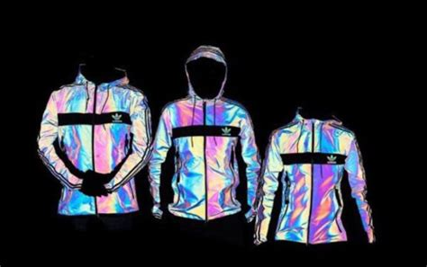 Jacket adidas iridescent tracksuit hoodie xeno reflective glow in the dark adidas jacket ...