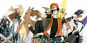 Pokemon Champion Red Wallpaper | www.imgkid.com - The ...