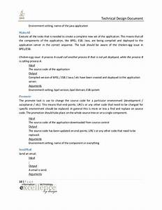 java technical design document With java design document template