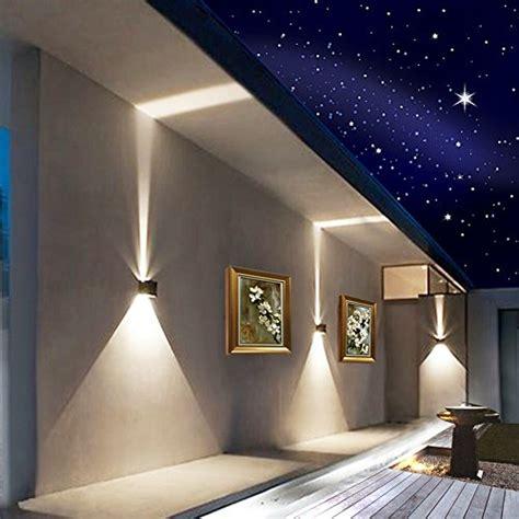 modern outdoor wall lighting amazoncom