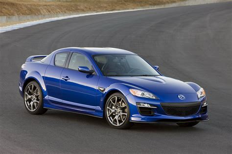 mazda rx  top speed