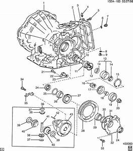 Automatic Transaxle Case  U0026 Differential