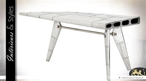 bureau avion bureau aile d 39 avion aluminium argenté 178 5 cm gauche